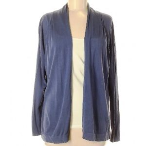 Loft Open Cardigan Navy Blue - M